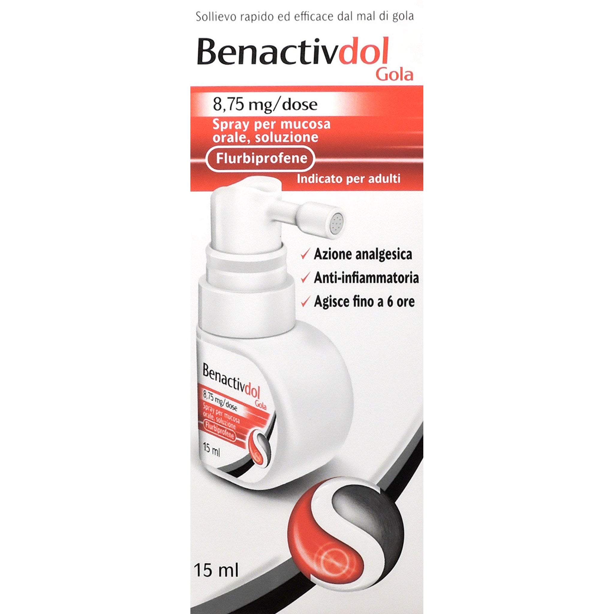 BENACTIVDOL GOLA SPRAY 15ML 8,75