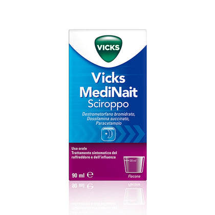 VICKS MEDINAIT SCIROPPO 90ML
