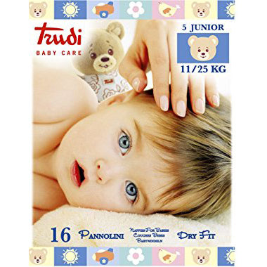 TRUDI BABY CARE PANNOLINI 5 JUNIOR 11/25KG
