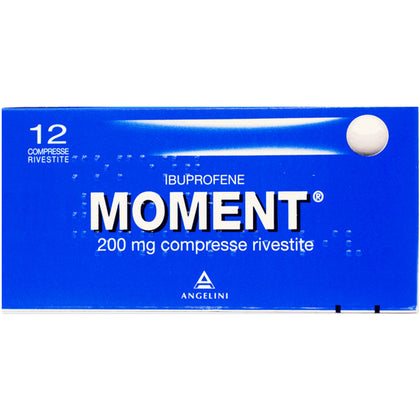 MOMENT 12 COMPRESSE RIV 200MG