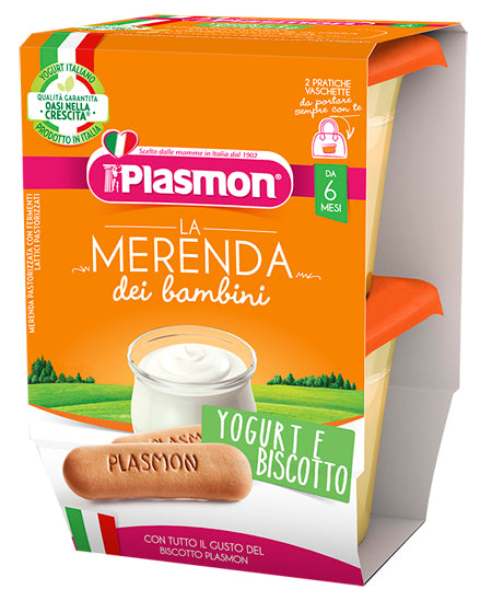 LA MERENDA BB YOGURT/BISC AS