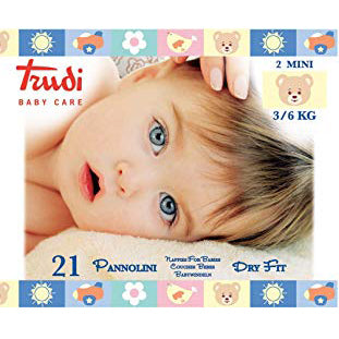 TRUDI BABY CARE PANNOLINI 2 MINI 3/6KG