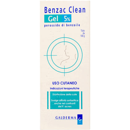 BENZAC CLEAN 5% GEL 100G