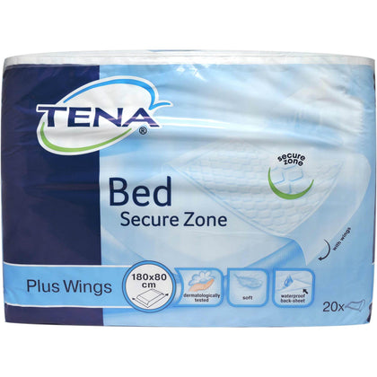 TENA BED PLUS WINGS TRAVERSE 80X180