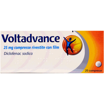 VOLTADVANCE 20 COMPRESSE RIVESTITE 25MG
