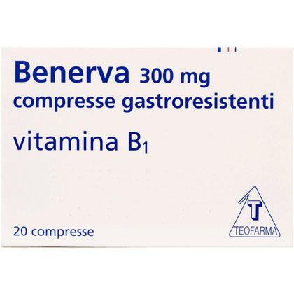 BENERVA 20 COMPRESSE 300MG