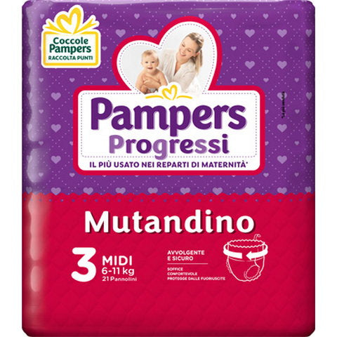 PAMPERS PROG MUT CP TG3 MI 21P