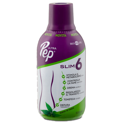 ULTRA PEP SLIM 6 TE' VERDE 500ML