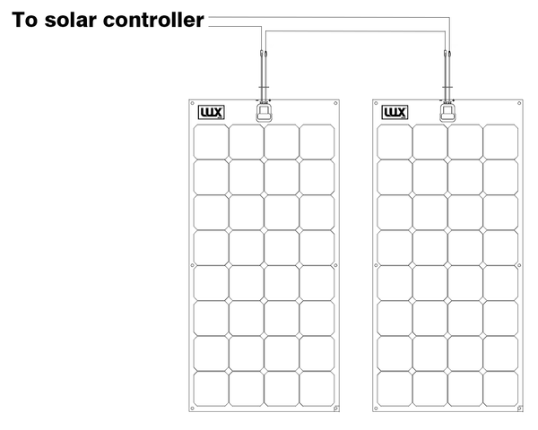 two solar panel wiring diagram