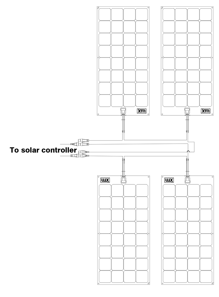 Solar Panel Wiring Diagrams