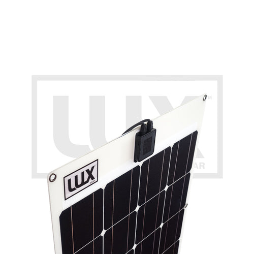96 Watt Flexible Solar Panel - with EVAFLEX® - Monocrystalline - 3 Year Marine Warranty