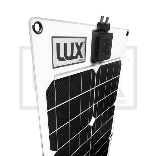 57 Watt marine flexible solar panel with EVAFLEX Solar