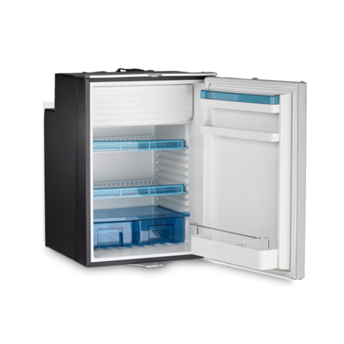 108 Litre 12,24, and 240 Volt, built-in front opening, Dometic Fridge