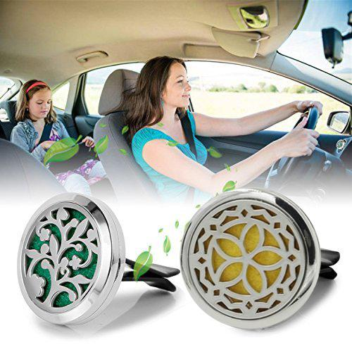 Car Aromatherapy Essential Oil Diffuser Locket