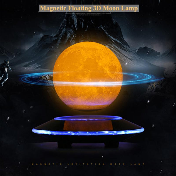 Limited Edition Magnetic Levitation 3D Moon Light