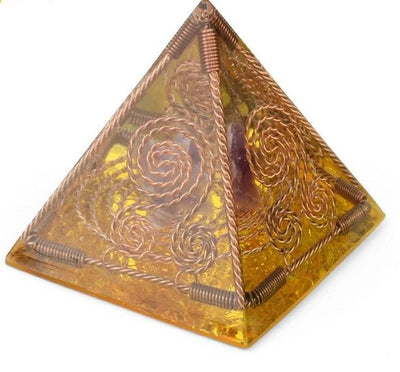 New Spirituality Orgonite Pyramid