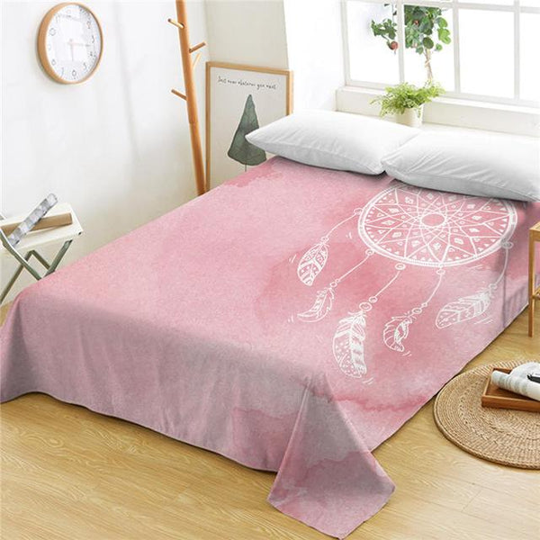 Summer Colors Dreamcatcher Bed Sheets Chakra Passion