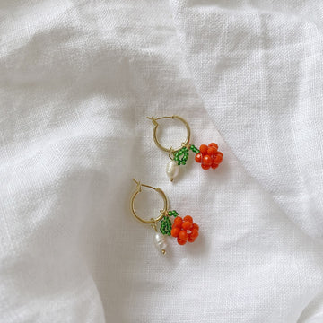 The Petunia Hoop earring