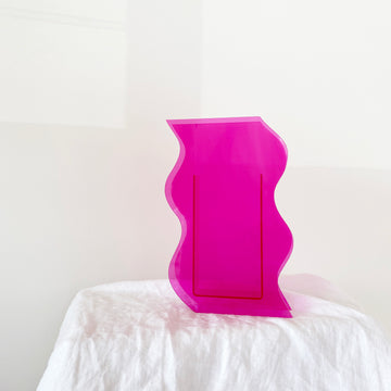 The Pulsing Magenta Resin Vessel