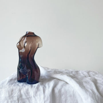 The Female Figure Glass Vessel