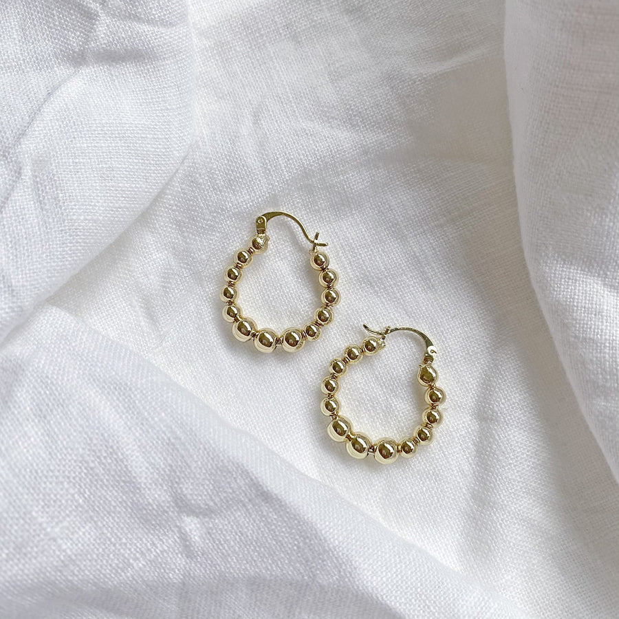 The Garland Hoop earring