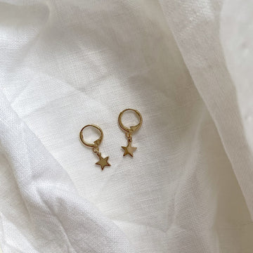 The Star Sleeper Hoop earring