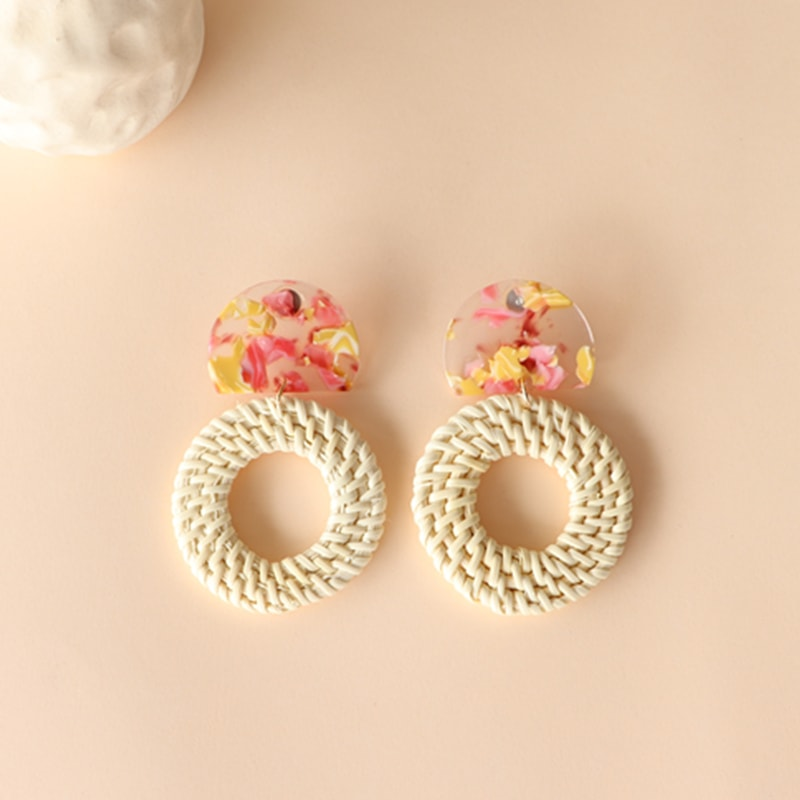 The Tropical Crush earring