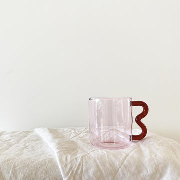 PREORDER The Pink Cherry Soremo Glass Mug
