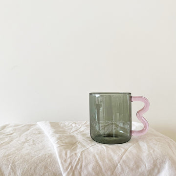 PREORDER The Smoke Pink Soremo Glass Mug