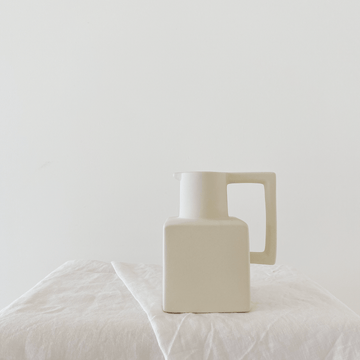 The Cube Ewer Ceramic Vessel