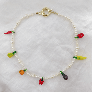 The Fruit and Veggie Pearl Choker