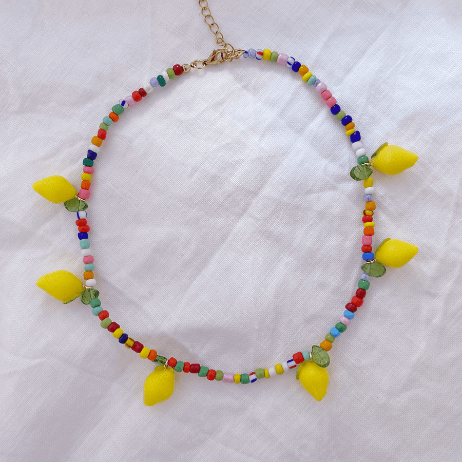 The Rainbow Lemon Choker