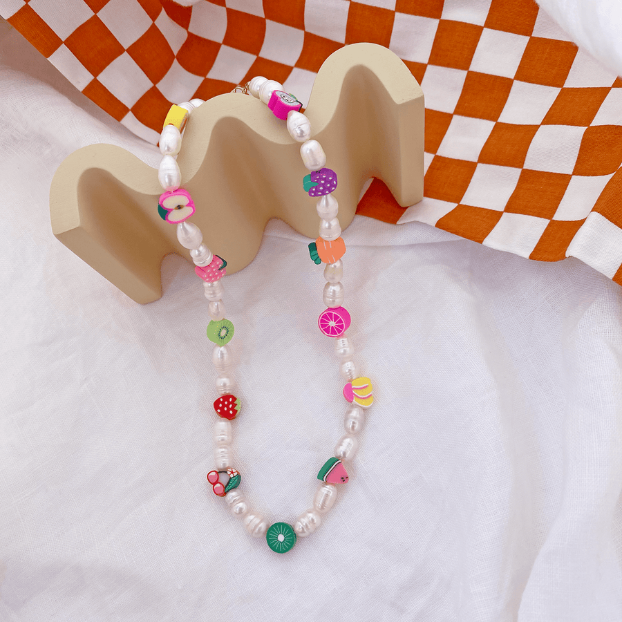 The Fruit Salad Pearl Choker