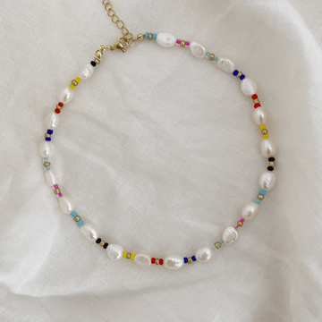 The Multiform Rainbow Pearl Choker