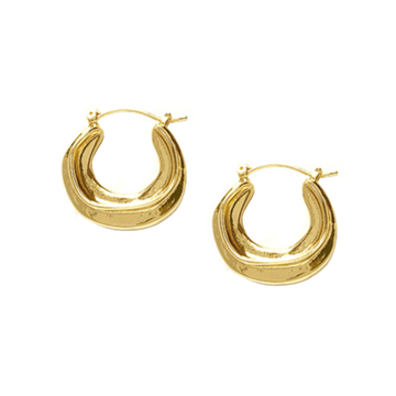 The Obi hoop earring