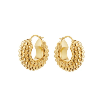 The Acropora Hoop earring