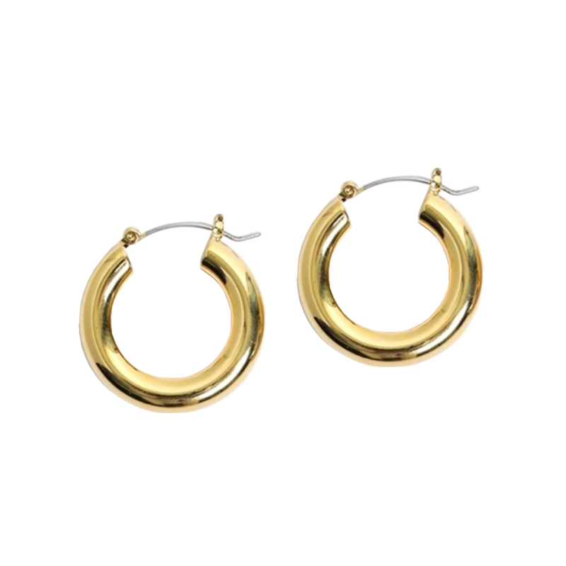 The Exaggerated Hoop earring