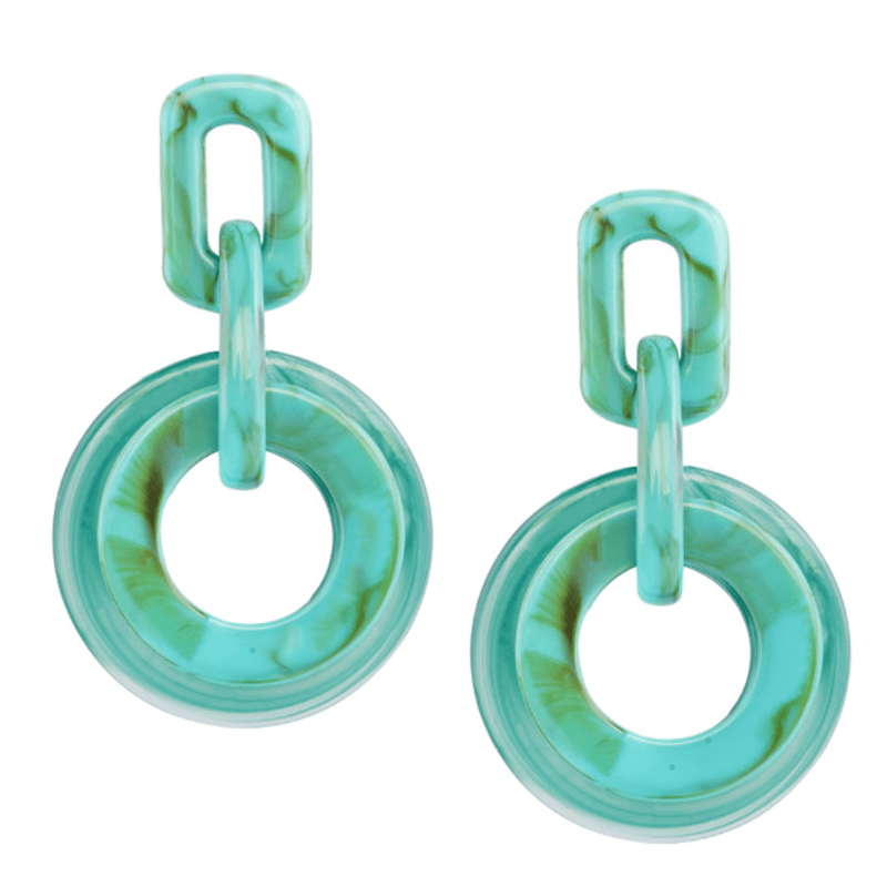 The Ornamental Turquoise earring