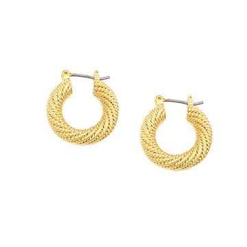 The Rope Hoop earring