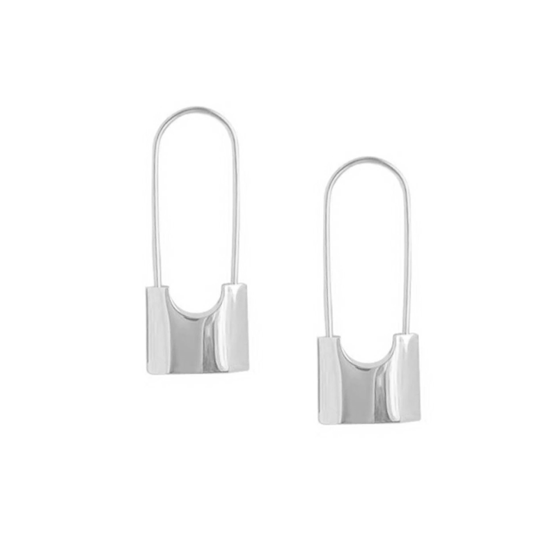 The Shielded Pin earring