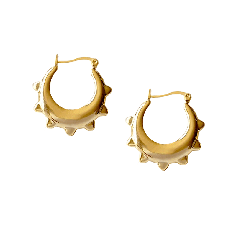 The Solar Hoop earring