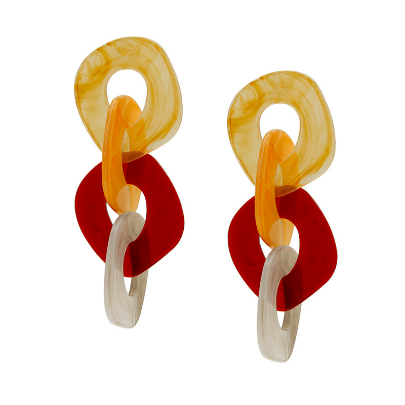 The Sunset Valley earring