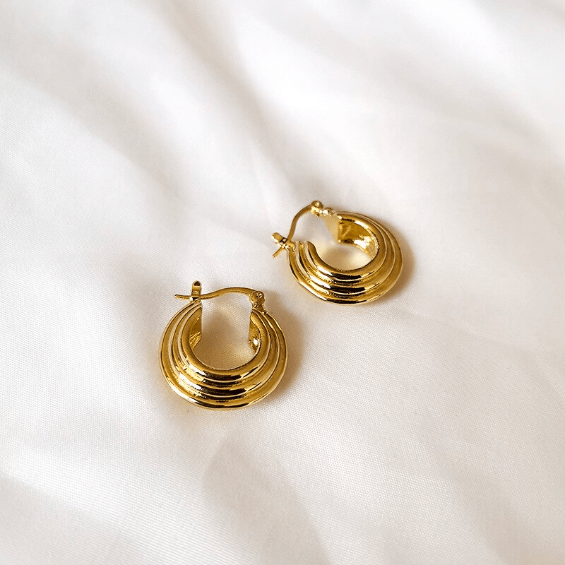 The Tiered hoop earring