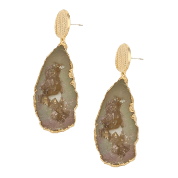 The Calcite earring