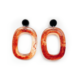 The Molten Lava earring