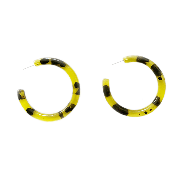 The Osmond hoop earring