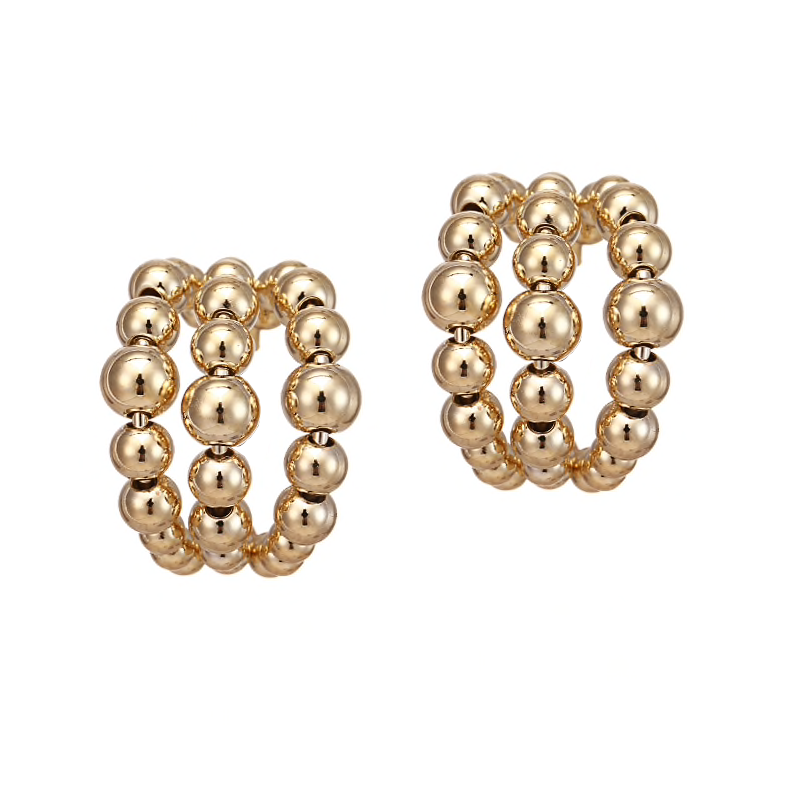 The Parker Hoop earring