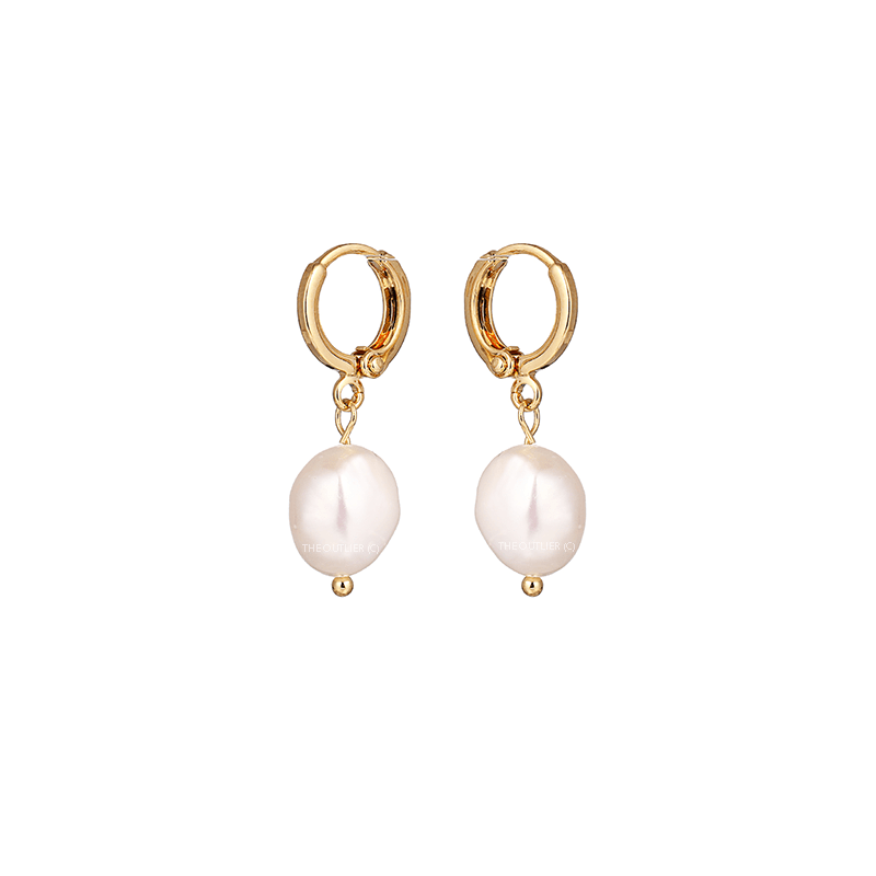 The Pearl Sleeper earring