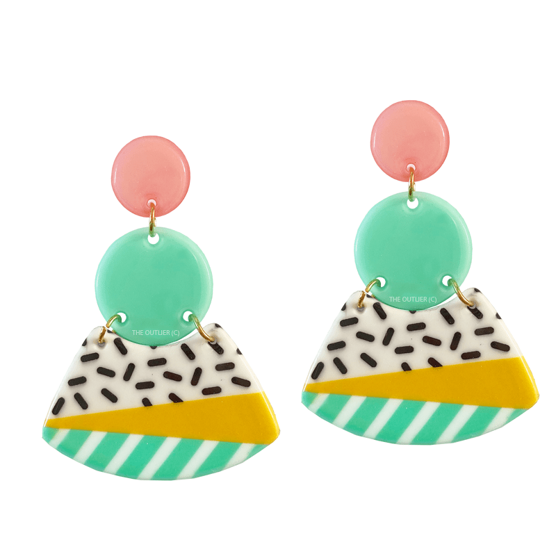 The Sprinkled Sorbet earring
