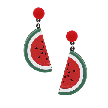 The Watermelon slice earring